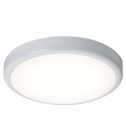 ML Accessories IP44 14W Dimmable LED Bulkhead With Sensor White