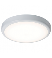 ML Accessories IP44 20W Dimmable LED Bulkhead with Sensor (White)