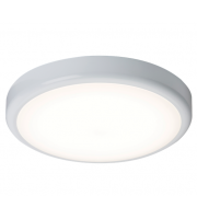 ML Accessories IP44 20W Emergency LED Bulkhead with Sensor (White)