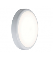 ML Accessories IP44 9W LED Bulkhead with Sensor (White)