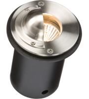 ML Accessories IP65 Round Walkover Light with Half Lip Cover (Stainless Steel)