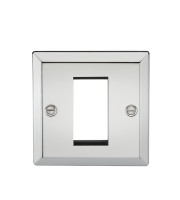 ML Accessories 1G Modular Faceplate (Polished Chrome)