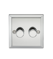 ML Accessories 2G 2 Way 40-400W Dimmer (Polished Chrome)