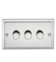 ML Accessories 3G 2 Way 40-400W Dimmer (Polished Chrome)