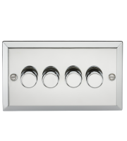 ML Accessories 4G 2 Way 40-400W Dimmer (Polished Chrome)