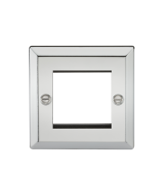 ML Accessories 2G Modular Faceplate (Polished Chrome)
