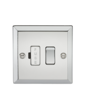 ML Accessories 13A Switched Fused Spur Unit (Polished Chrome)