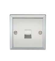ML Accessories Telephone Extension Outlet (Polished Chrome)