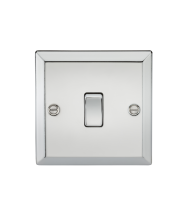 ML Accessories 20A 1G DP Switch (Polished Chrome)