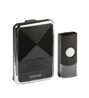 ML Accessories Wireless Door Chime (Black)