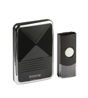 ML Accessories Black Wireless Plug-in Door Chime (Black)