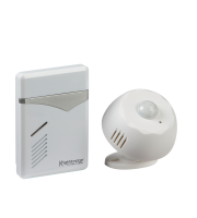 ML Accessories Wireless PIR Door Chime (White)