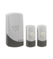 ML Accessories Wireless Dual Entrance Door Chime Kit (White)