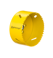 ML Accessories 80mm Bi Metal Holesaw (Yellow)