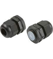 ML Accessories IP66 20mm Cable Glands x 10 Pack (Black)