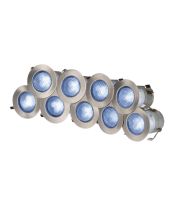 ML Accessories IP65 Blue 1W LED Decking Kit (Stainless Steel)