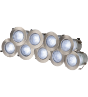 ML Accessories IP65 10 X 02W LED Decking Kit Stainless Steel