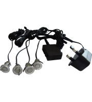 ML Accessories IP44 Mini LED Decking Kit (Stainless Steel)