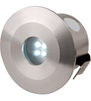 ML Accessories IP44 White LED Decking Kit Stainless Steel