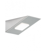 ML Accessories 12V DC 3W LED Rectangular Under Cabinet Light (Satin Chrome)