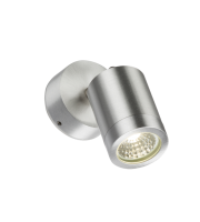 ML Accessories 230V IP65 4W Adjustable LED Wall Light (Aluminium)