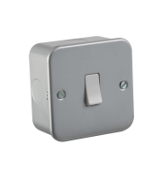 ML Accessories Metal Clad 10A Intermediate Switch (Silver)