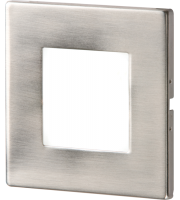 ML Accessories 1W Recessed LED Wall Light (Stainless Steel)