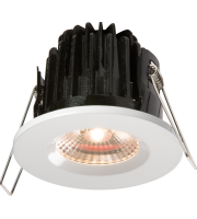 ML Accessories IP65 7W LED 3000K Warm White Downlight Comes With White Round Bezel