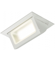ML Accessories 230V 30W Rectangular Recessed LED Wallwasher (White)