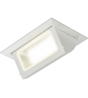 ML Accessories 230V 40W Recessed LED Rectangular Wallwasher (White)