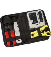 ML Accessories Structured Wiring Data And Network Installation Tool Kit (Black)