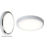 ML ACCESSORIES 230V IP44 20W Emergency Led Bulkhead With Sensor/dimming Function 4000K