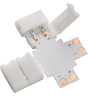 ML ACCESSORIES 12V / 24V Led Flex 4-way Connector - Single Colour