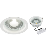 ML ACCESSORIES 230V 15W Cob Led Recessed Commercial Downlight 4000K