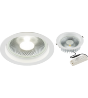 ML ACCESSORIES 230V 30W Cob Led Recessed Commercial Downlight 4000K