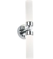 Knightsbridge 2x3W Twin LED Wall Light (Chrome)