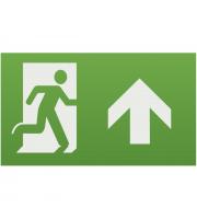 ML Accessories Running Man Legend with Upward Facing Arrow For Emexit /Emlrec/Emlsus (Green)