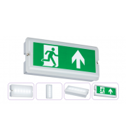 ML Accessories 230V IP65 3W LED Emergency Bulkhead Maintained/Non-maintained (White)
