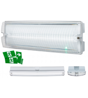ML Accessories 230V IP65 4W LED Emergency Bulkhead Maintained/Non-maintained (White)