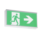 Knightsbridge Running Man Legend for product EMRUN with Right Facing Arrow