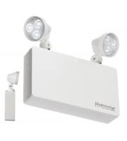 Knightsbridge 6W LED Twin Spot Emergency Light (White)