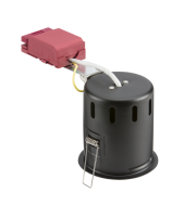 Knightsbridge Evolve IC Fire-Rated Tilt Standard Can GU10 (Black)