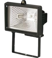 ML Accessories IP54 150W Mini Enclosed Halogen Floodlight (Black)