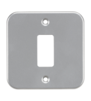 ML ACCESSORIES Metalclad 1G Grid Faceplate