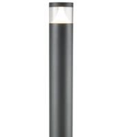 Knightsbridge Garden Post Light/Bollard1100MM (Anthracite)