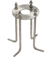 Knightsbridge Bollard Mounting Kit (Steel)