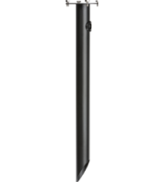 Knightsbridge Bollard Spike (Black)