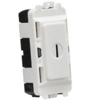 Knightsbridge 20AX DP key module (White)
