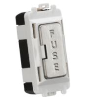 Knightsbridge fused module (Brushed Chrome)