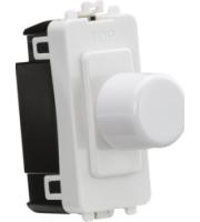 Knightsbridge 1G 2-way 10-200W (10-100W LED) (White)